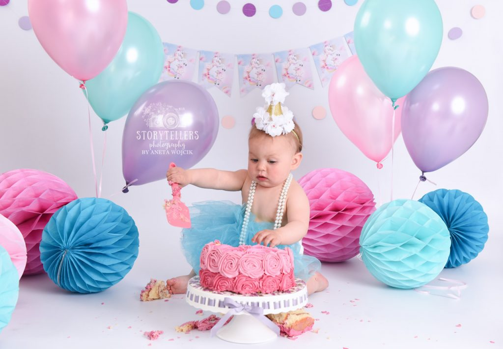 Cake Smash Splash Photography Aneta Wojcik